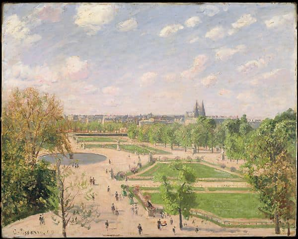 Camille Pissarro, The Garden of the Tuileries on a Spring Morning, 1899
