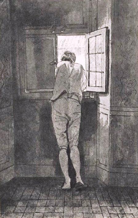 Goethe am Fenster